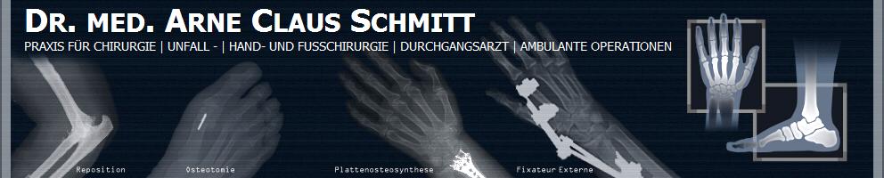 Praxis Dr. med. Arne C. Schmitt | Facharzt für Chirurgie